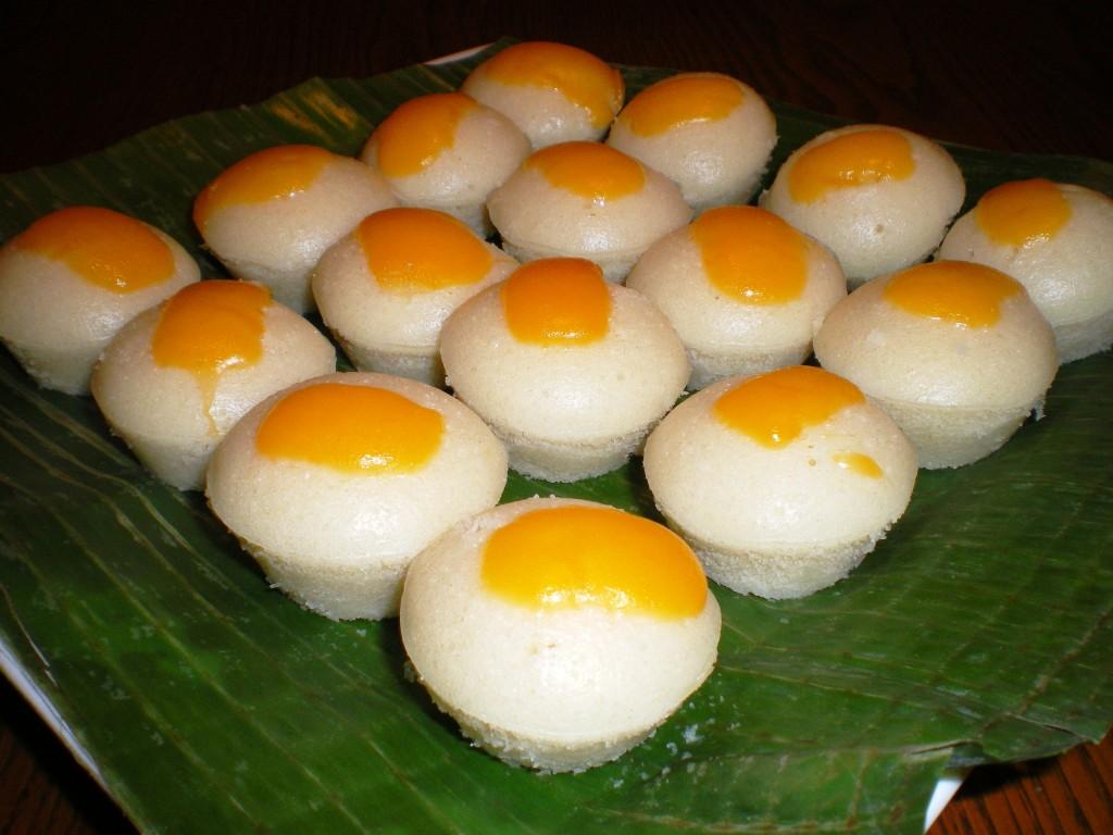 Filipino Food - buttered puto